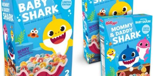 Kellogg's Baby Shark Cereal is Swimming Into Breakfast Soon