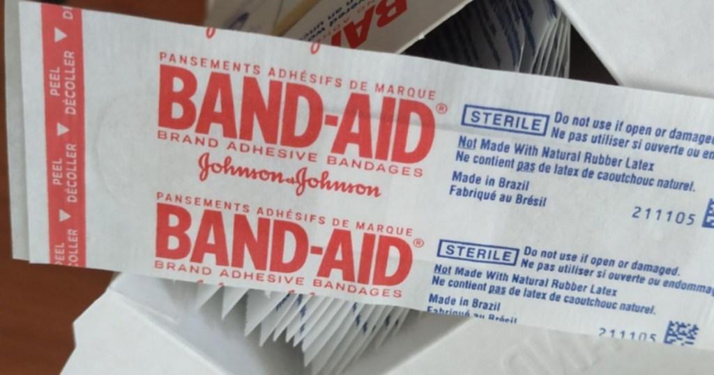 bandaid sheer bandages