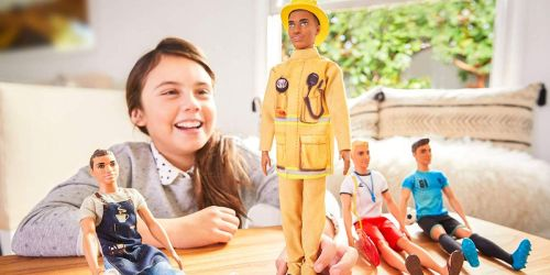Up to 50% Off Barbie Career Dolls | Firefighter, Doctor, Lifeguard, Music Teacher & More