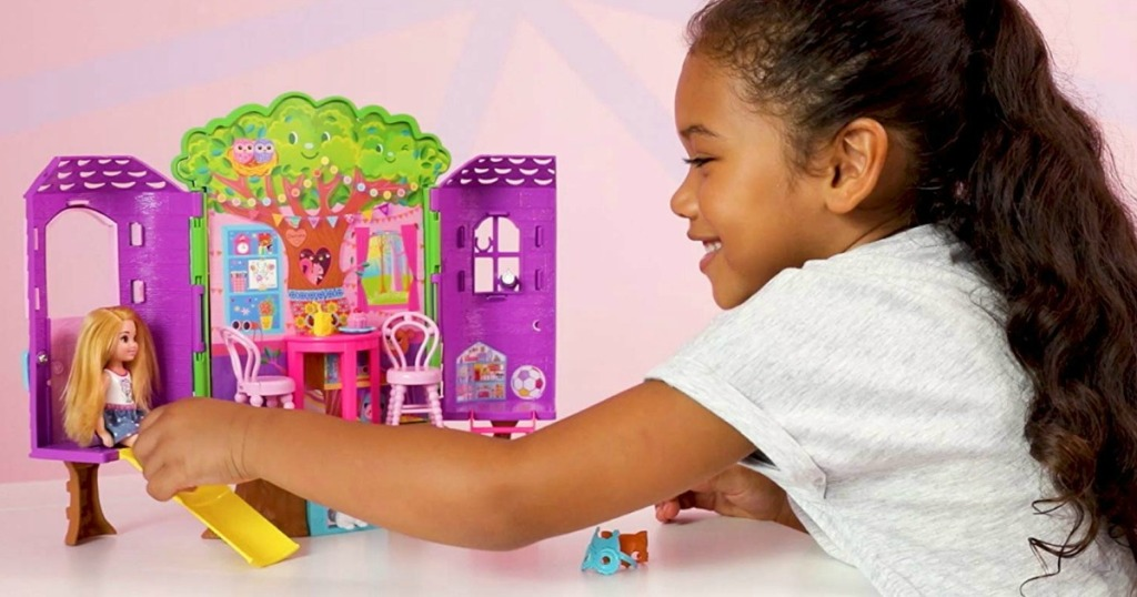 Barbie Club Chelsea Treehouse Playset Only 13 Regularly