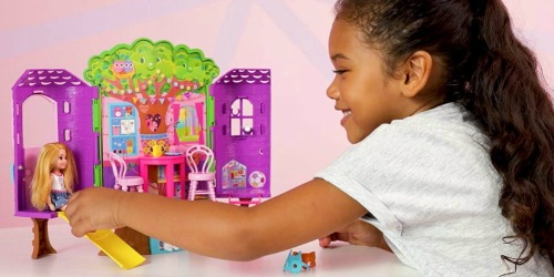 Barbie Club Chelsea Treehouse Playset Only $10.99 (Regularly $20)