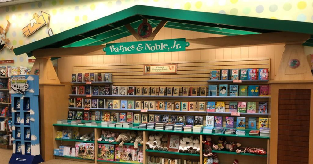 barnes & noble jr area in store