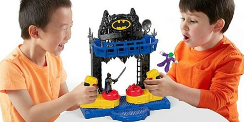 Imaginext DC Super Friends Battle Batcave Only $10 (Regularly $25)