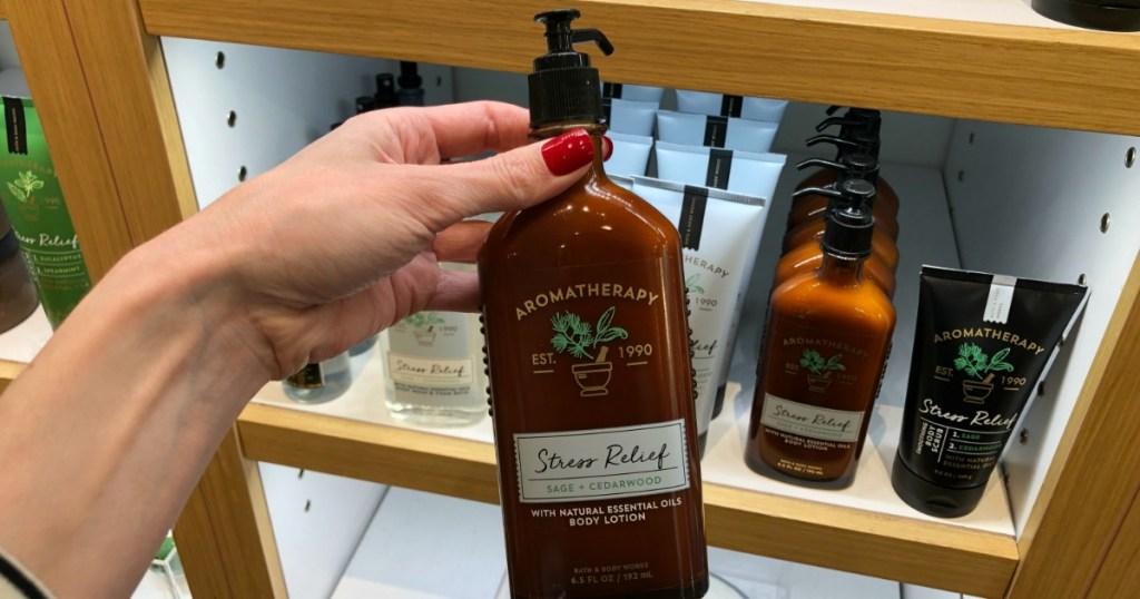 Bath & Body Works Stress Relief Aromatherapy