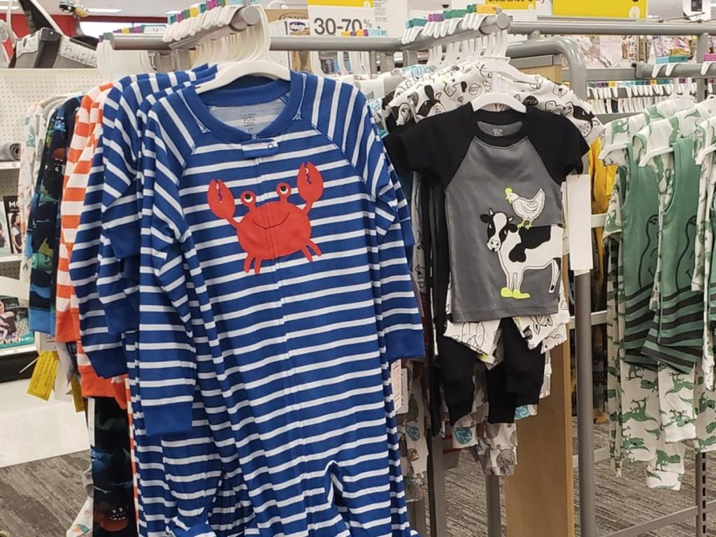 boys toddler pajamas target