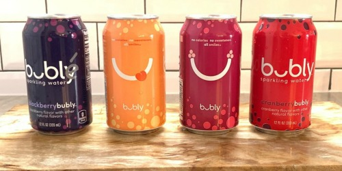 Amazon Prime Members! Save on bubly Sparkling Water, Munchies Peanuts & More