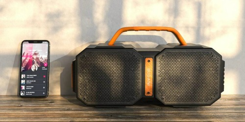 Waterproof Outdoor Bluetooth Speaker Only $48.99 Shipped on Amazon