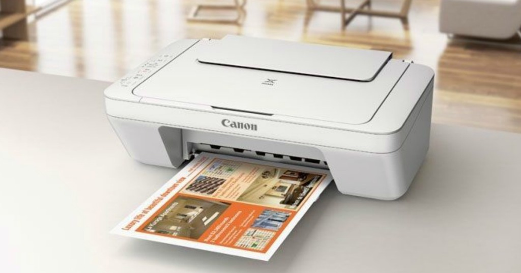 Canon Pixma MG2522 All-In-One Color Printer printing paper