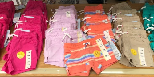 Cat & Jack Kids Shorts as Low as $4 at Target – In-Store & Online