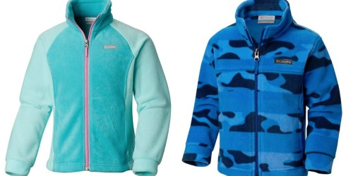 Columbia Kids Fleece Jackets as Low as $11.98 + FREE Shipping