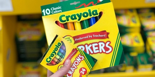50% Off Crayola on Target.com | Crayons, Colored Pencils, & Art Kits from 69¢