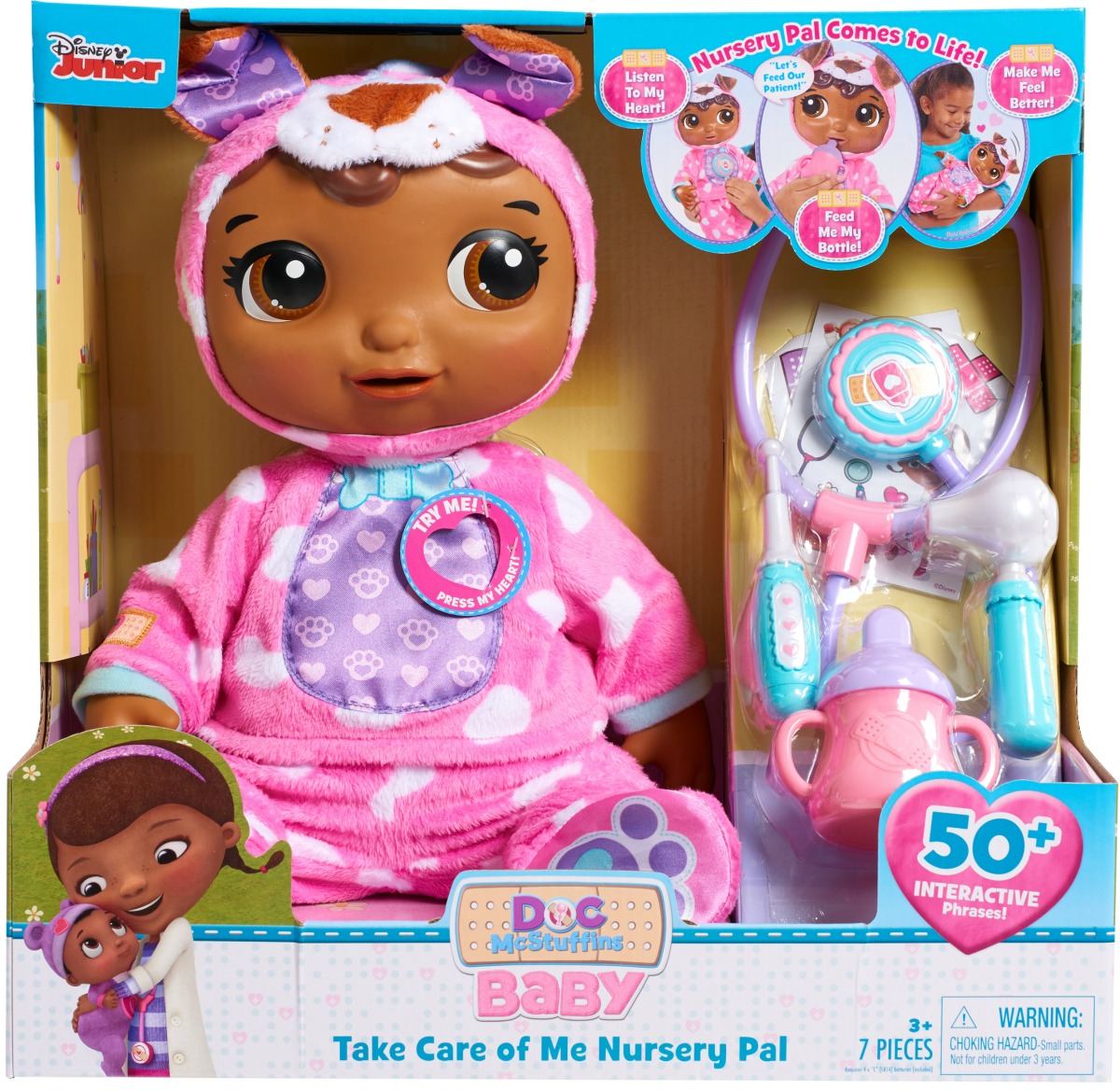doc mcstuffins nursery pal in packaging