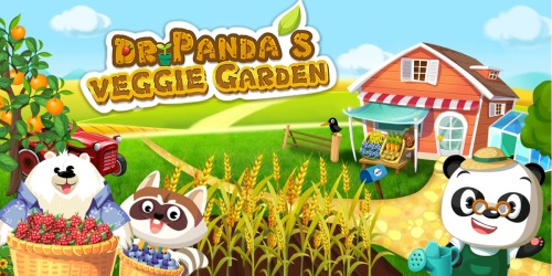 FREE Dr. Panda Veggie Garden Download | Available for Android & iOS