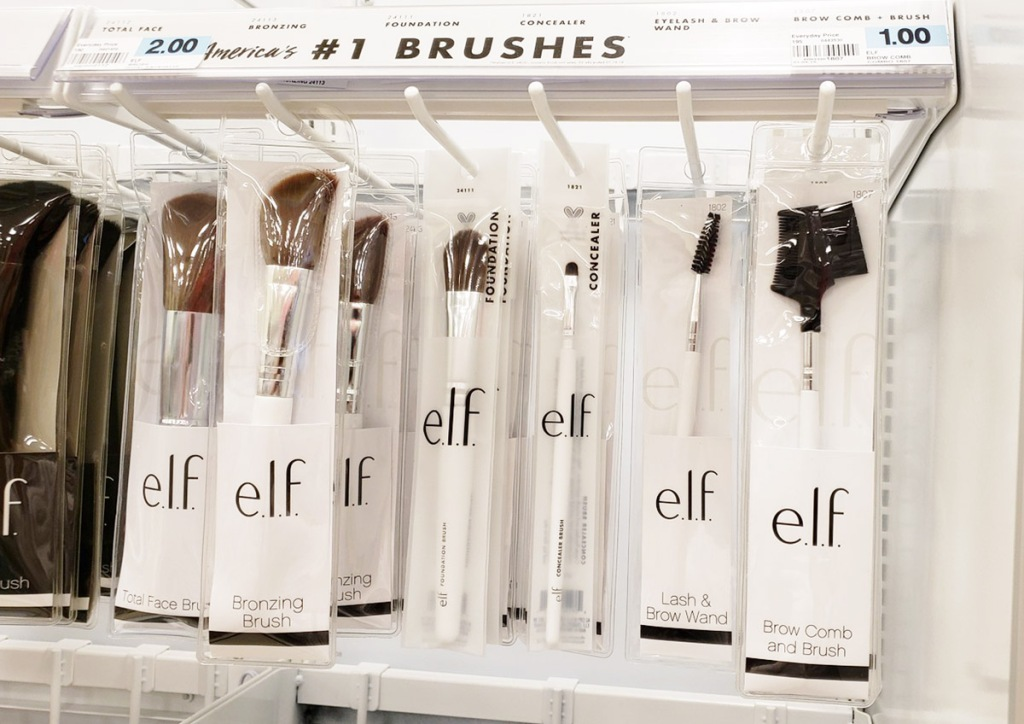 elf makeup brushes from rite aid
