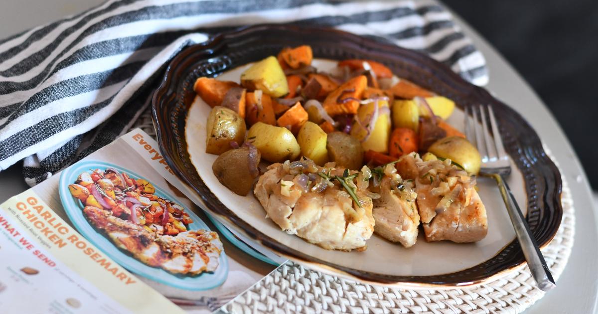 Garlic Rosemary Chicken from Everyplate