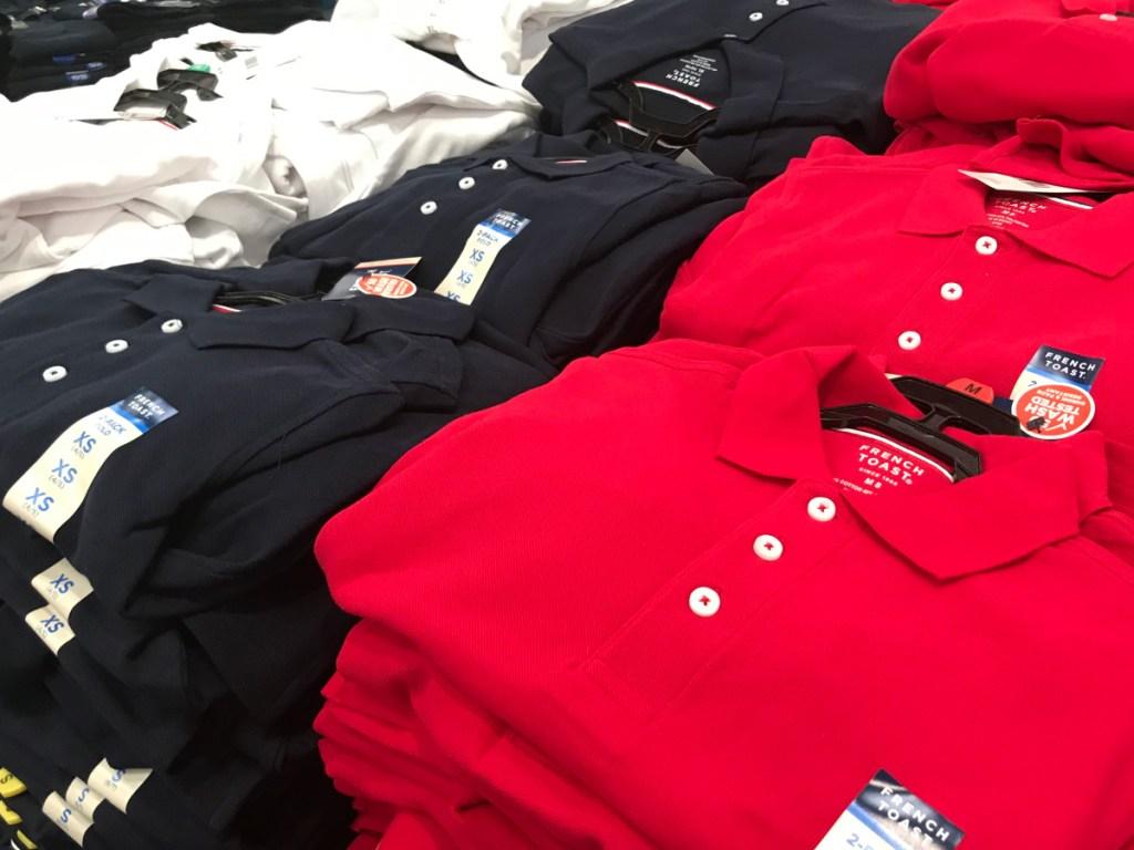french toast uniform shirts