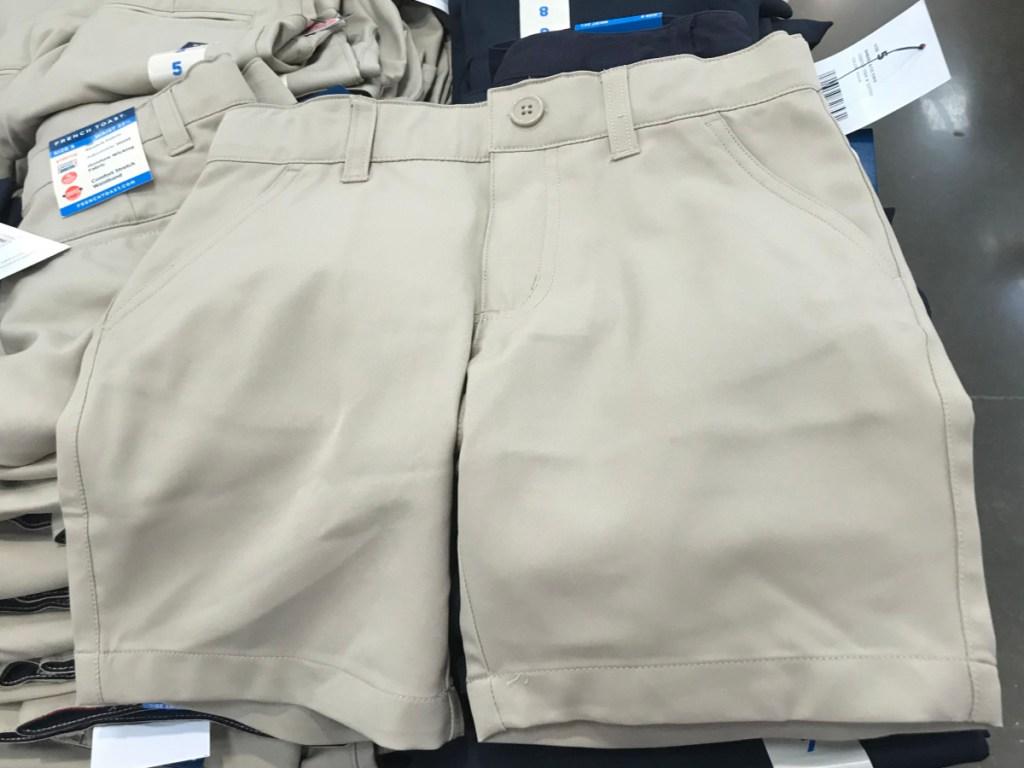 french toast uniform shorts