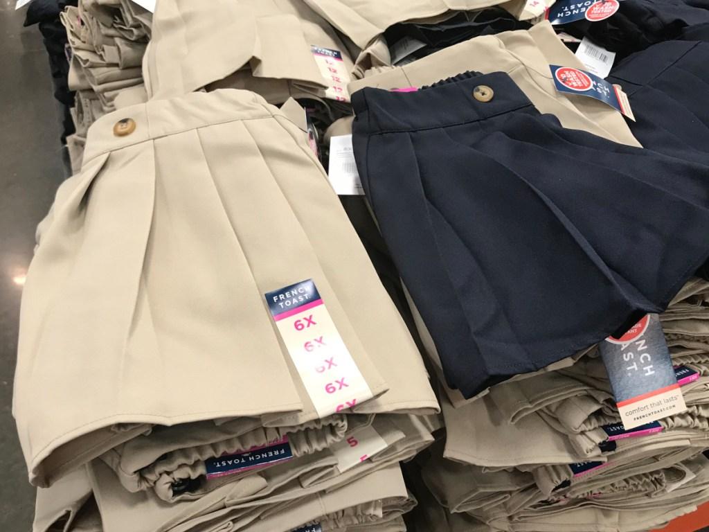 french toast uniform skirt