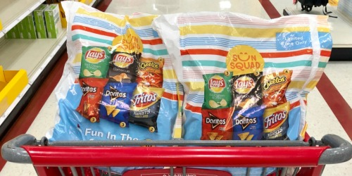 Frito-Lay 18-Count Snack Packs Only $3.99 Each After Target Gift Card
