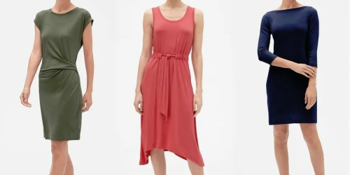 Up to 80% Off Women's Dresses at Gap Factory