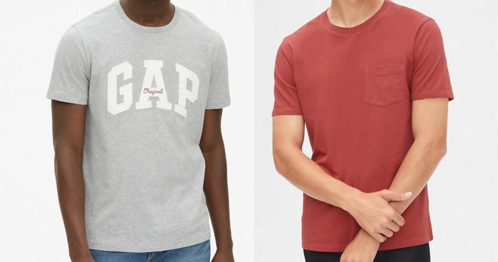 gap men's t-shirts