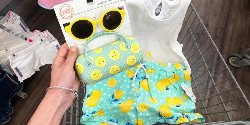 This Lemon-Themed Girls Summer Outfit is Too SWEET (+ Affordable!)