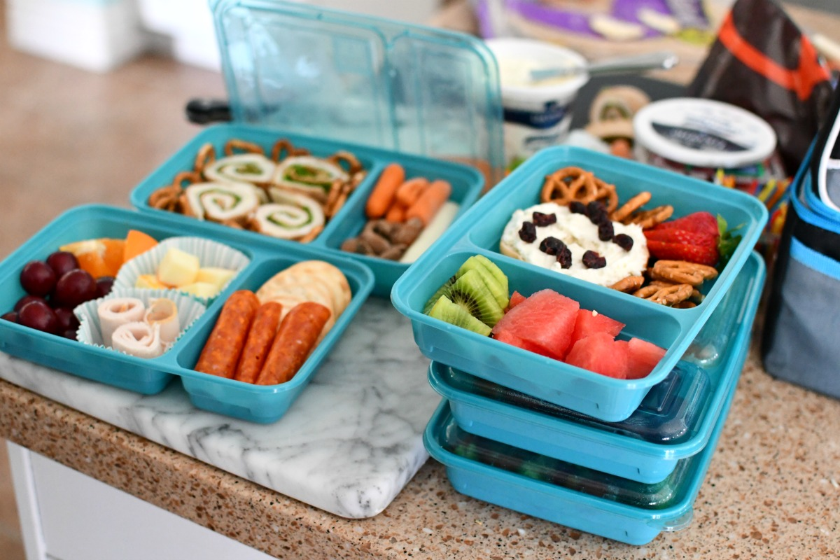 good cooks meal prep lunch containers with lids