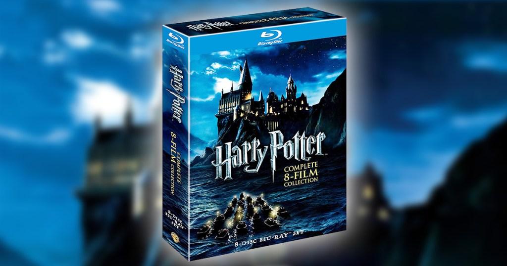 harry potter box set of blu-rays