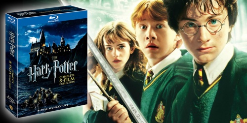 Amazon Prime | Harry Potter 8-Film Blu-ray Collection Only $27.49 Shipped