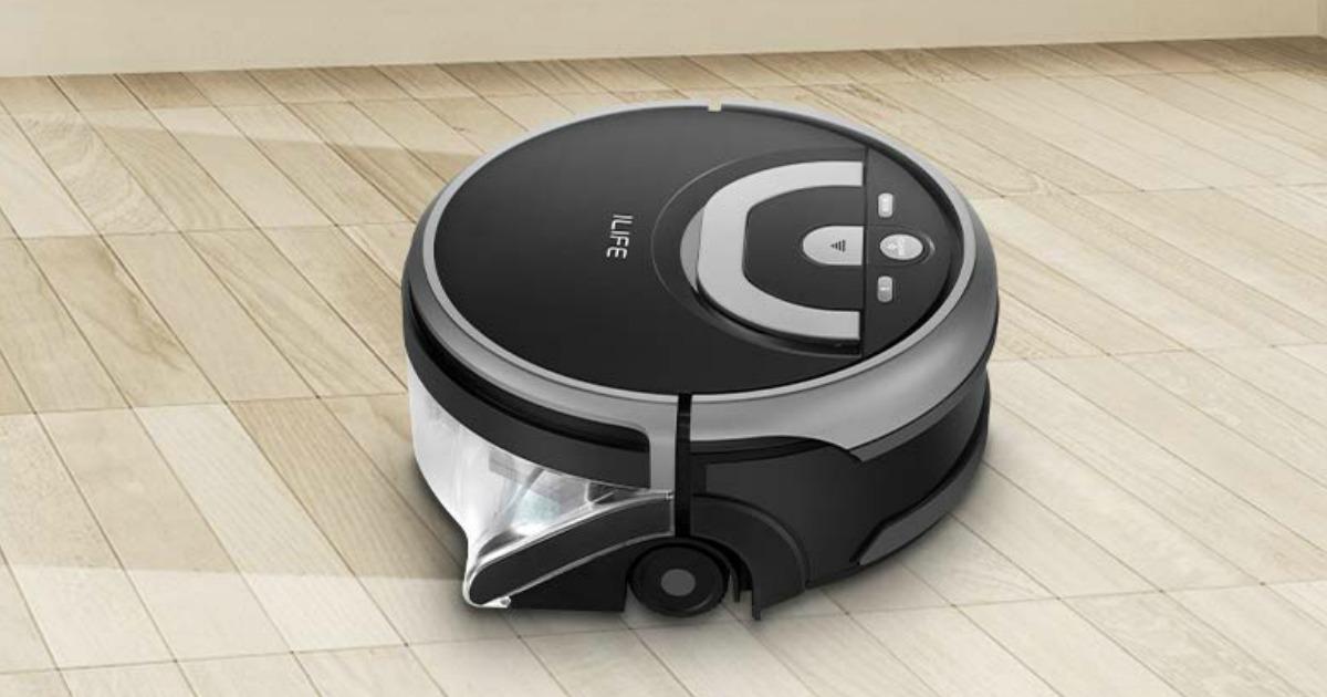 Amazon Ilife Shinebot Scrubbing Robot Only 212 Shipped