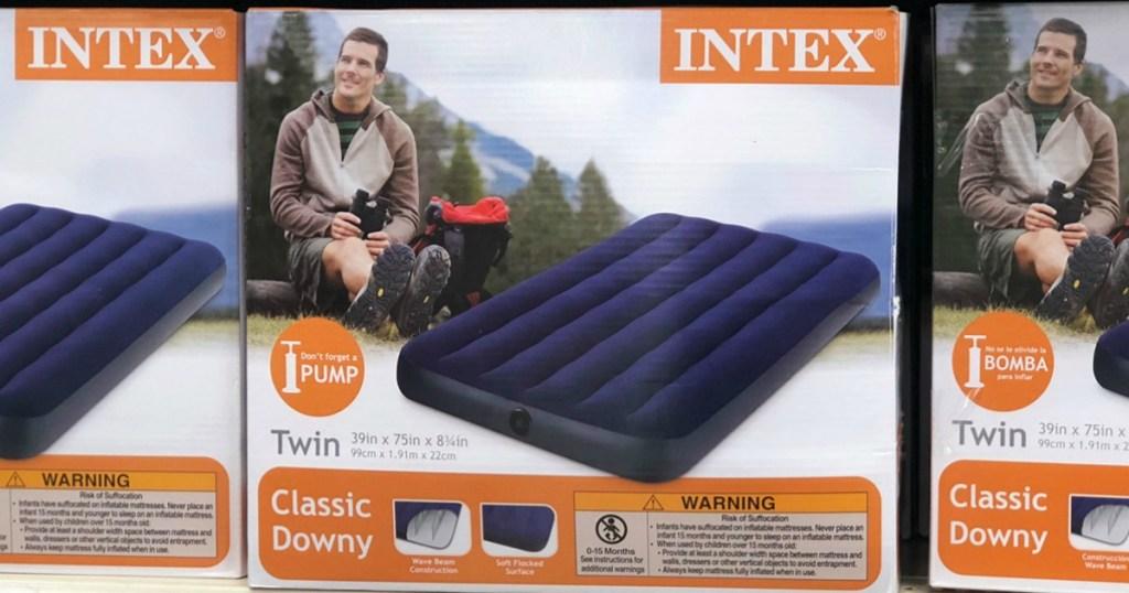 Intex Twin Inflatable Air Mattress Just $7.97 at Walmart ...