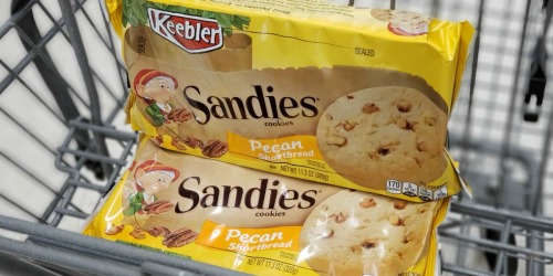 NEW $1/2 Keebler Coupon = Sandies Cookies Only $1.49 Each at Walgreens