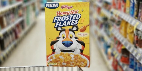 Kellogg's Cereal as Low as 38¢ Each at Walgreens (Frosted Flakes, Froot Loops & More)