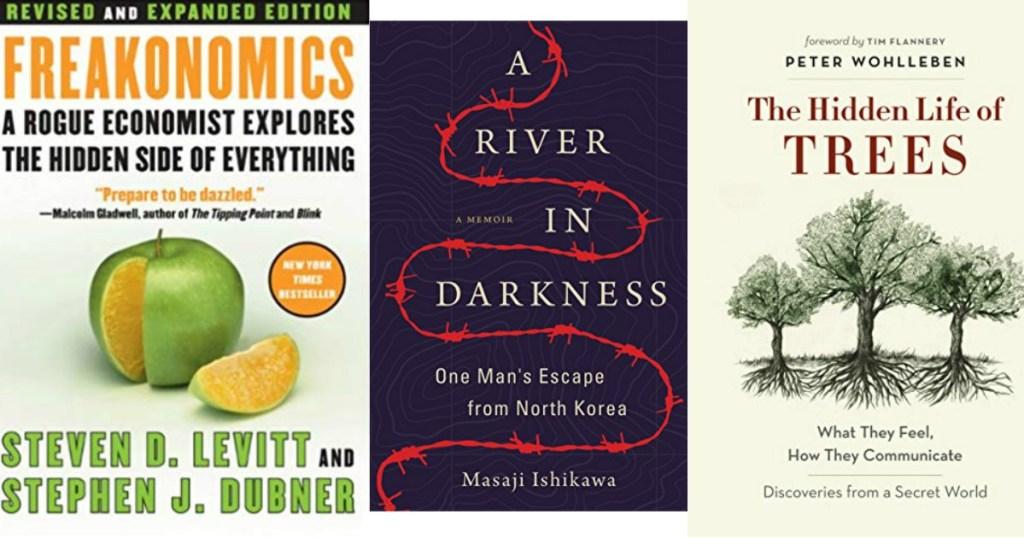freakonomics, a river in darkness, the hidden life of trees ebooks