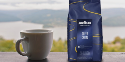 Lavazza Whole Bean Coffee 2.2lb Bag Only $12 Shipped on Amazon