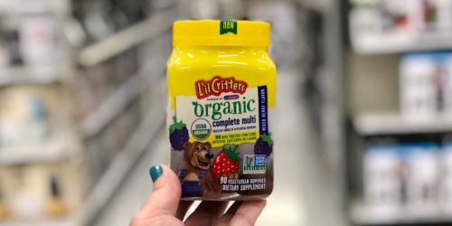 New High Value $3/1 Vitafusion or Lil' Critters Organic Product Coupon
