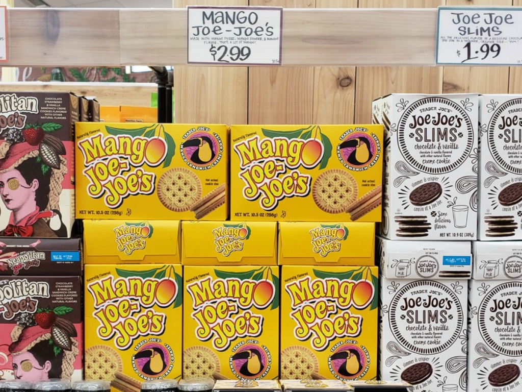 boxes of cookies inside store