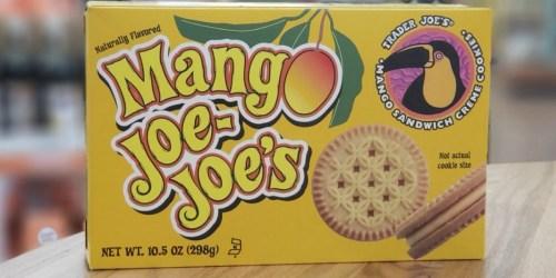 Trader Joe's Mango Joe Joe's Cookies Only $2.99