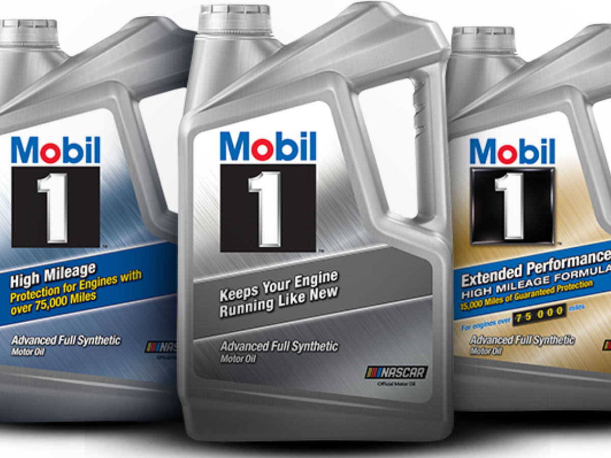 Mobil 1 Rebate >> Mobil 1 Synthetic 5 Quart Motor Oil Only 7 98 After Rebate