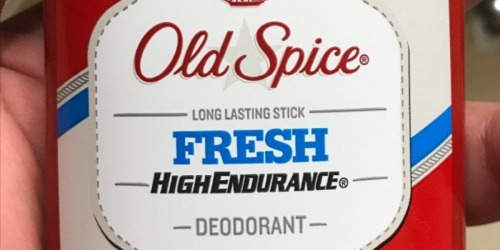 Old Spice Deodorant 3-Pack Only $4.49 at Amazon (Just $1.49 Each)