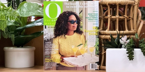 FREE 2-Year Subscription to O, The Oprah Magazine ($119.76 value!)