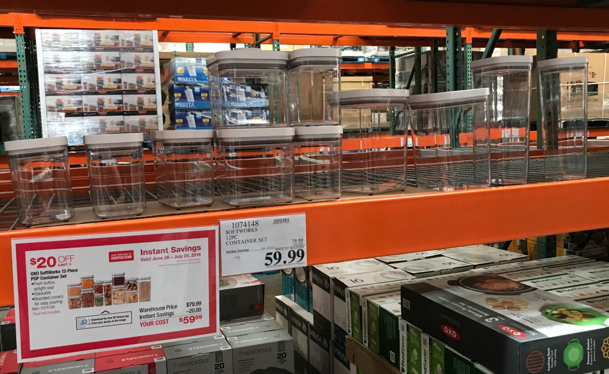 OXO 12-Piece POP Container Set Only $59 99 at Costco