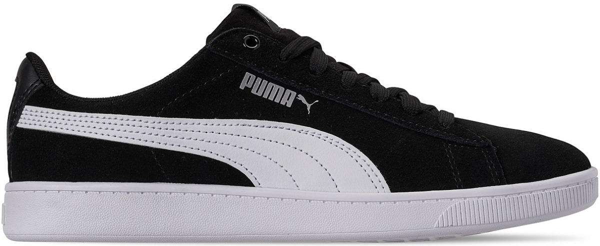 classic white and black puma shoes