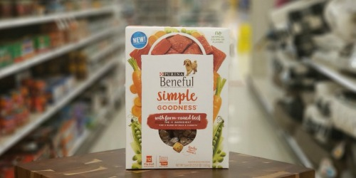 Purina Beneful Simple Goodness Dog Food Only $2.22 Each at Target