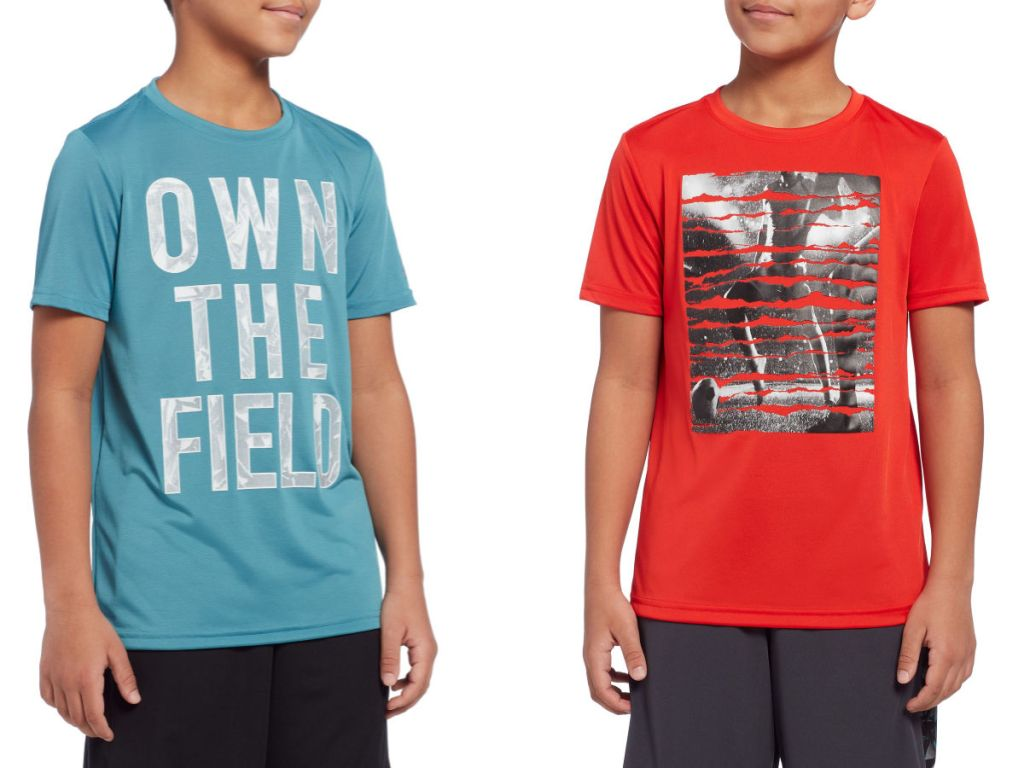 reebok boys graphic tee own the field