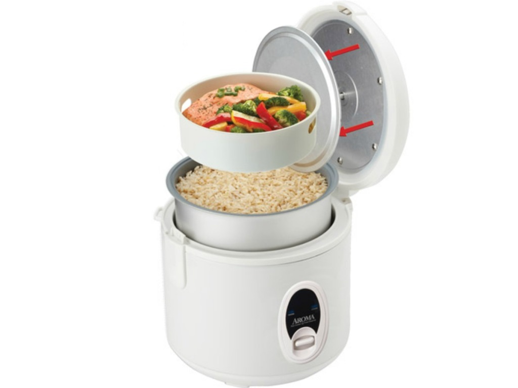 rice cooker and steamer