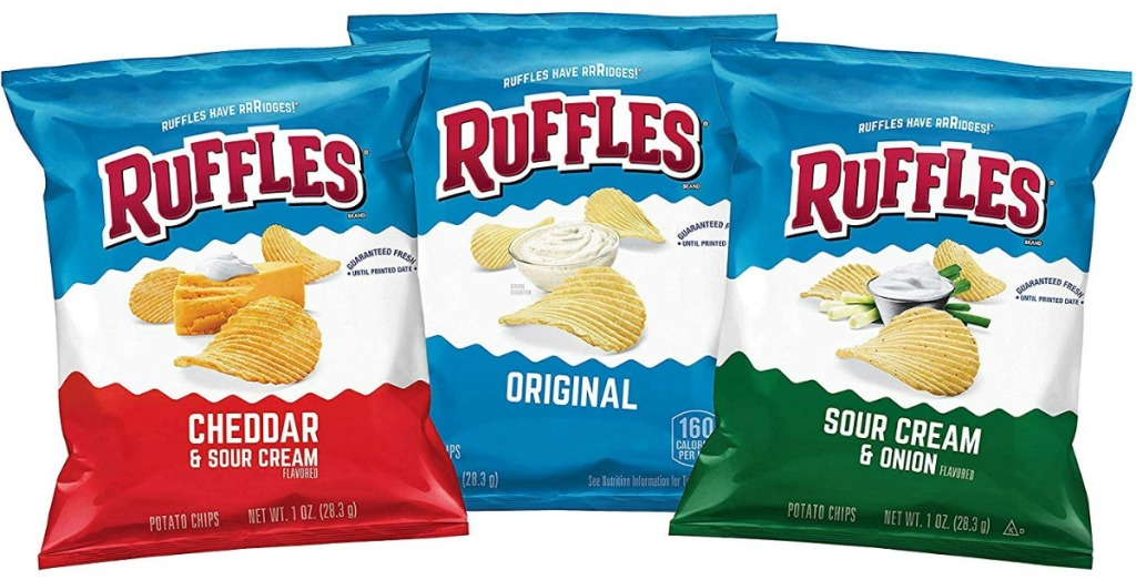Ruffles Chips + More Lunchbox Snack Deals on Amazon