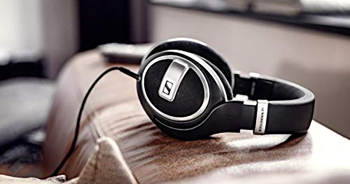 sennheiser hd 599 headphones on couch