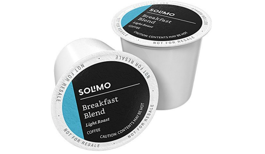 two solimo breakfast blend coffee pods