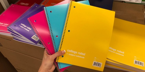 Staples School Supply Deals | 25¢ Notebooks, 50% Off Backpacks & More
